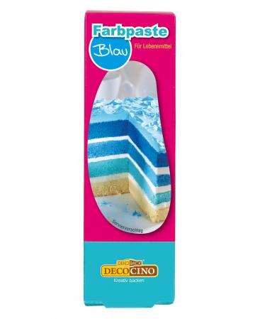 Color paste for food blue