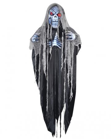 Glowing Creepy Reaper Hanging Figure