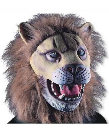 Löwen Maske aus Latex