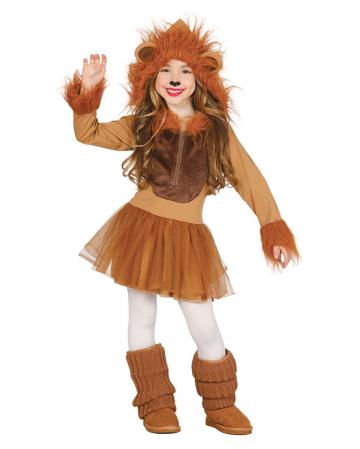 Löwe Faschingskostüm für Mädchen