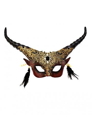 Herrscher der Finsternis Teufels Halbmaske