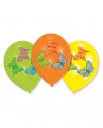 Schmetterlings Luftballons 8 St.