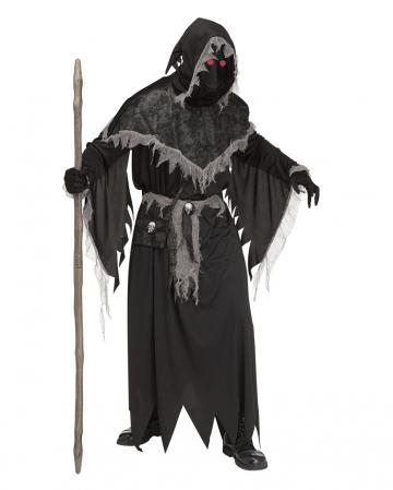 Mächtiger Hexenmeister Kostüm mit Leuchteffekt