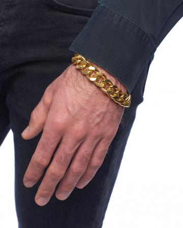 Gangster Armkette Gold