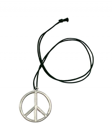 Metall Hippie Anhänger Peace