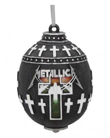 Metallica Master of Puppets Christbaumkugel