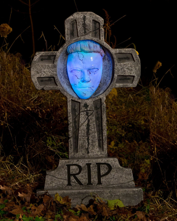 Michael Myers Gravestone Luminous 90 Cm