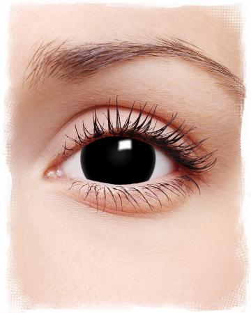 Schwarze Mini-Sclera Kontaktlinsen