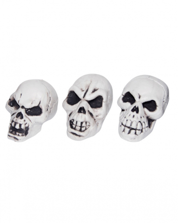 Mini Death Skull For Halloween Deco 5 Cm