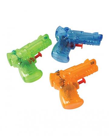 Mini Water Pistol In Various Colors