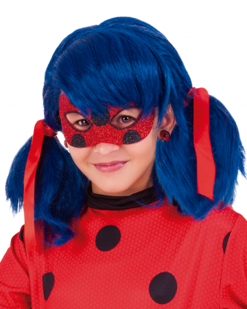 Miraculous Ladybug Marienkäfer Glitzer Maske