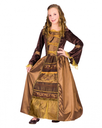 Medieval Baroness Child Costume