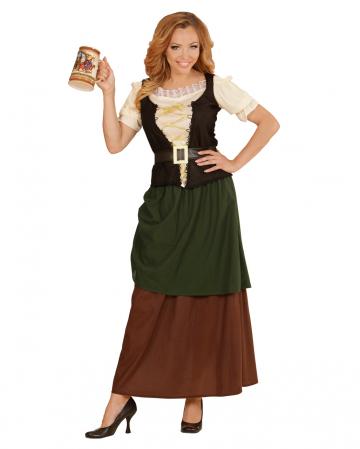 Mittelalter Gastwirtin Kostüm