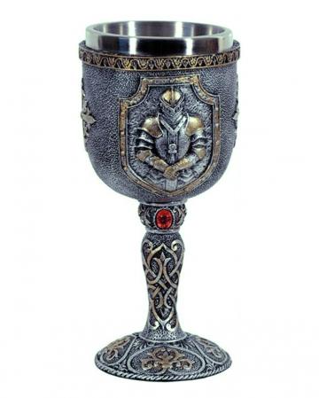 Medieval Knight Goblet