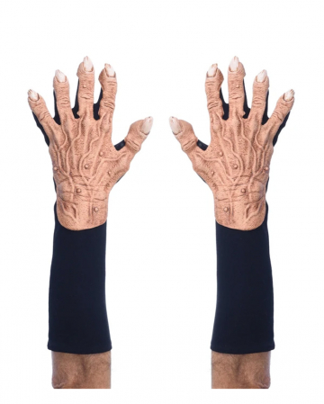 Fiese Monster Flesh Handschuhe Hautfarben