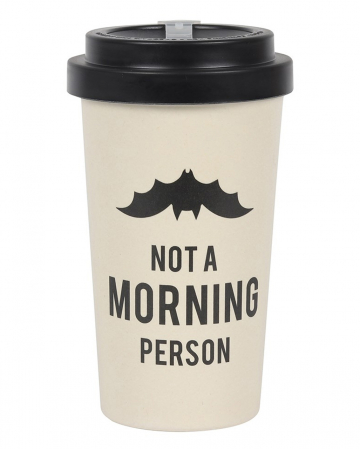 Morning Grumpy To Go Bamboo Mug