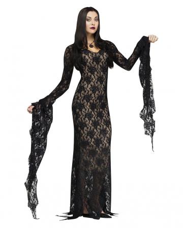 Miss Darkness Deluxe Kostüm mit Spitze