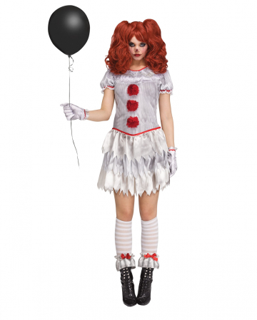Evil Mrs Clown Kostüm für Erwachsene
