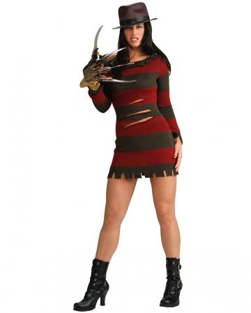 Mrs. Freddy Krueger costume S