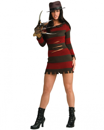 Mrs. Freddy Krueger costume M