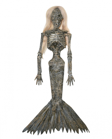 Mummified Mermaid Hanging Figure