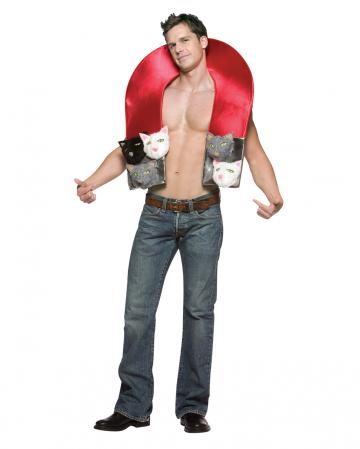 Kostüm Muschi Magnet