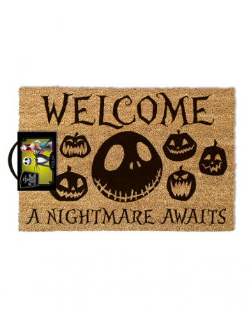 Nightmare Before Christmas Welcome Fußmatte