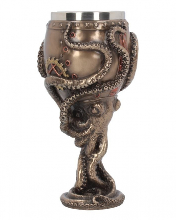 Octopus Steampunk Drinking Cup