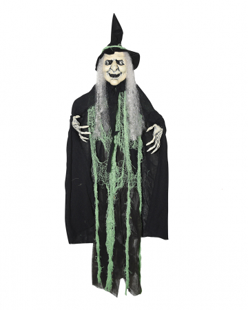 Old Witchy XXL Hanging Decoration Green