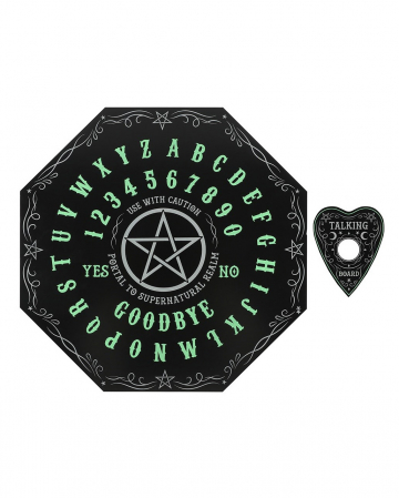 Ouija Octagon Fortune Board Glow In The Dark