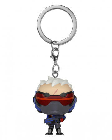 Overwatch Soldier 76 Keychain Pocket POP