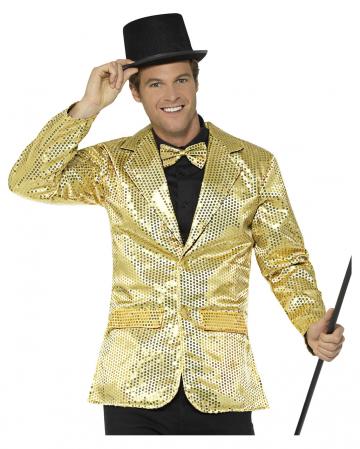 Goldene Männer Pailletten-Jacke