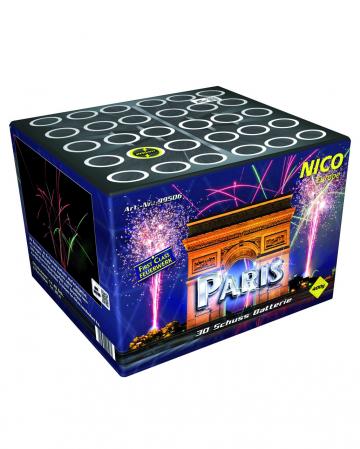 Paris 30 Schuss Batteriefeuerwerk