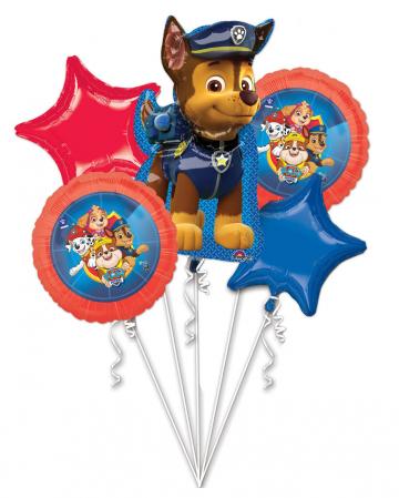 Paw Patrol Chase Foil Balloon Bouquet