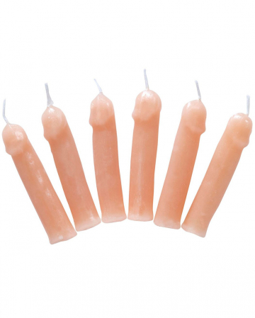 Penis Party Candles Set Of 6