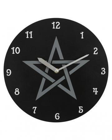 Pentagram Wall Clock 28cm