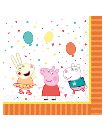Peppa Pig Napkins 16 Pcs.