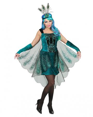 Peacock Fairy Costume With Headdress