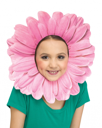 Pinkes Gänseblümchen Kostümzubehör