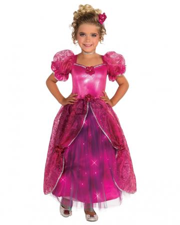 Pinke Prinzesschen Kinderkostüm