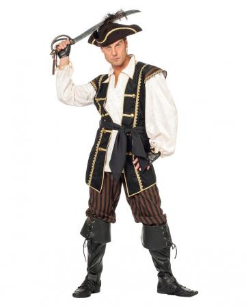 Piraten Commander Männer Kostüm
