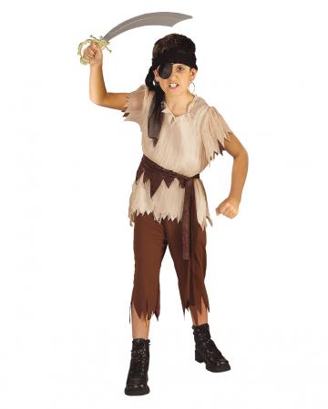 Kinderkostüm Pirat mit Stirnband