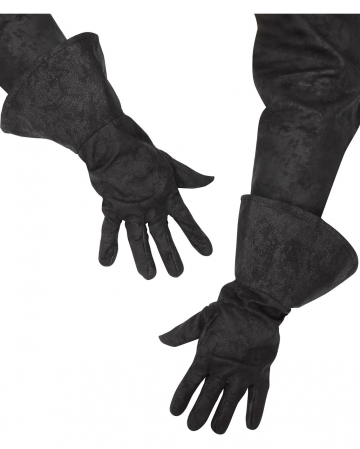 Pirate gloves black