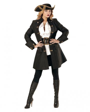 Piraten Kapitän Kostümmantel für Frauen