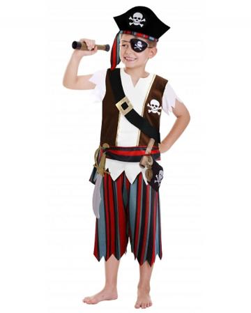 Piratenjunge Kostüm Set 12-tlg.