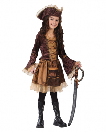 Piratenlady Kinderkostüm Gr. M