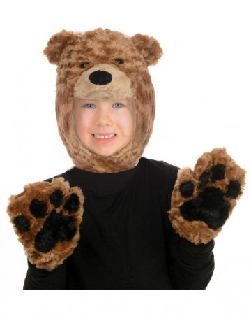 Plüsch Bär Kostümset für Kinder