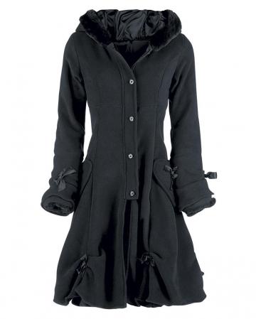 Poizen Industries Alice Coat Coat Black