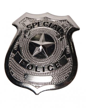 US Polizei Abzeichen Metall