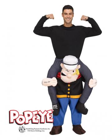 Popeye Huckepack Kostüm